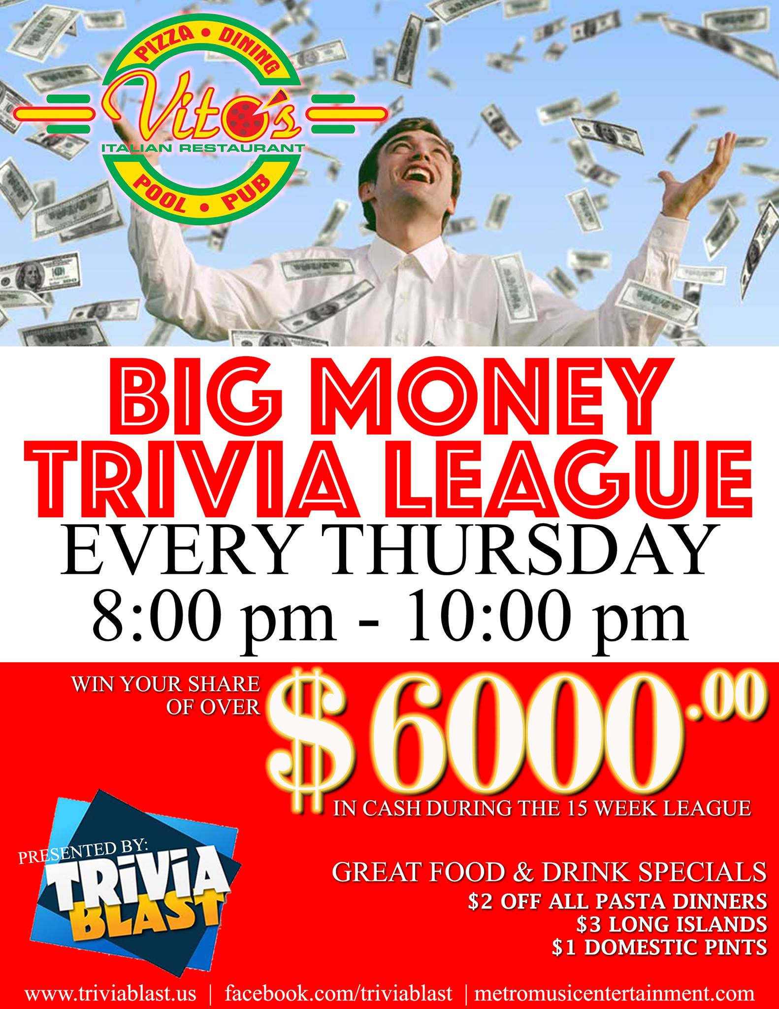 Big Money Trivia League!